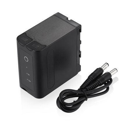Powerextra Multifunctional Battery Pack Power Bank With USB Output for Sony NP F970 NP F975 NP F960 NP F950 NP