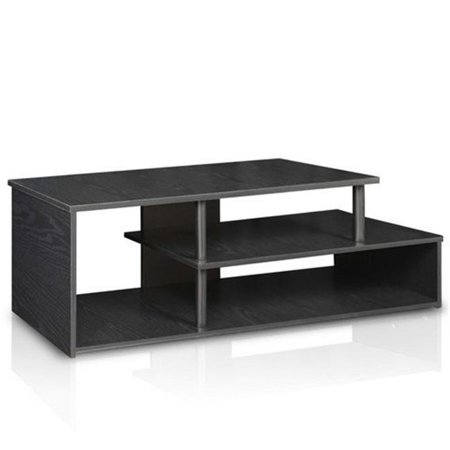 Econ Low Rise TV Stand, Black Wood - 15 x 48.7 x 14.6 in. ()