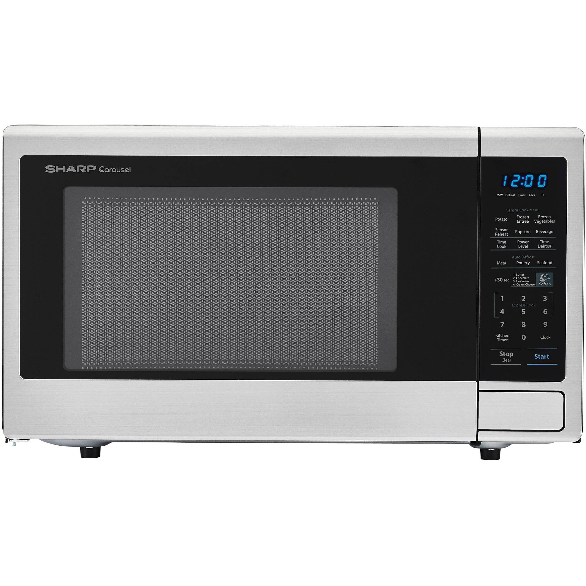 Sharp 1.8 Cu. Ft. 1100W Stainless Steel Microwave