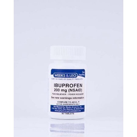 Pain Tablet -Ibuprofen 200 mg(Advil and Motrin Generic) 100 count ()