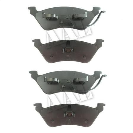 - AAL Premium Ceramic Rear BRAKE PADS For 2002 2003 2004 2005 2006 2007 DODGE GRAND CARAVAN Disco/Disco (Complete set 4 pieces)