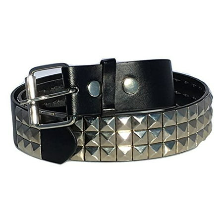 Studded Woven Belt (Dangerous Threads Black Studded Belt- 1 1/2