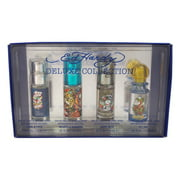 Ed Hardy Deluxe Collection Christian Audigier 4 Pc Mini Gift Set