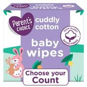 Parent's Choice Cotton Wipes, 5 Pack, 480 Count