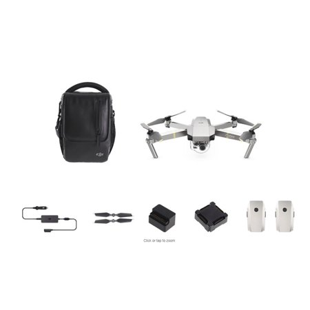 Dji Mavic Pro Platinum Quadcopter Drone - Fly More Combo