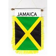 Jamaica - Window Hanging Flag