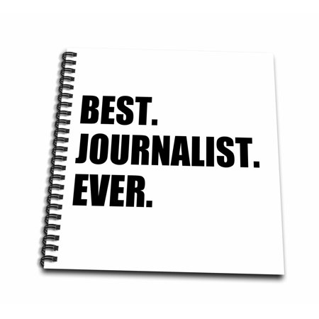 3dRose Best Journalist Ever, fun gift for talented newspaper magazine writers - Mini Notepad, 4 by