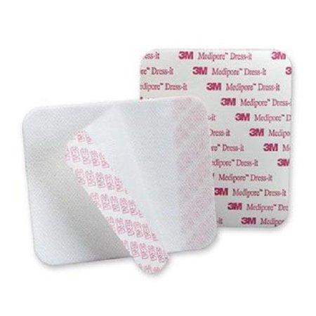 Medipore Pad Soft Cloth (3M Medipore Pre-Cut Soft Cloth Composite Dressing Cover 7.88 X 3.78, Box of 25)