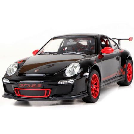 Porsche Cruise Control - 1/14 Scale Porsche 911 GT3 RS Radio Remote Control Model Car R/C RTR (Black)