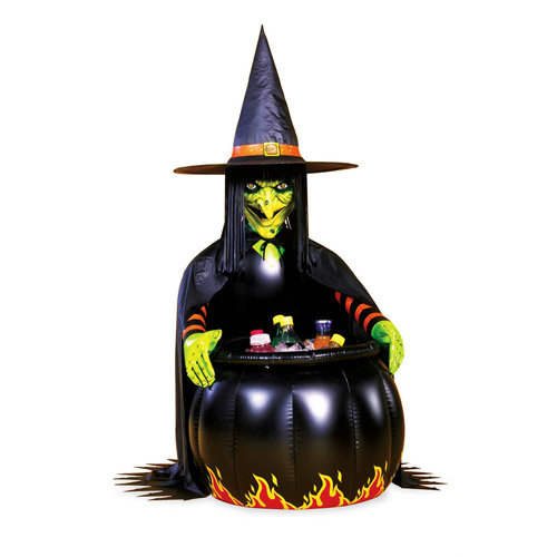 Witch Halloween Cauldron Cooler