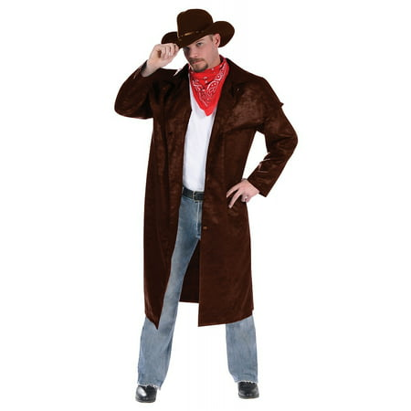 Cowboy Duster Adult Costume - - Cowboy Outfits For Adults