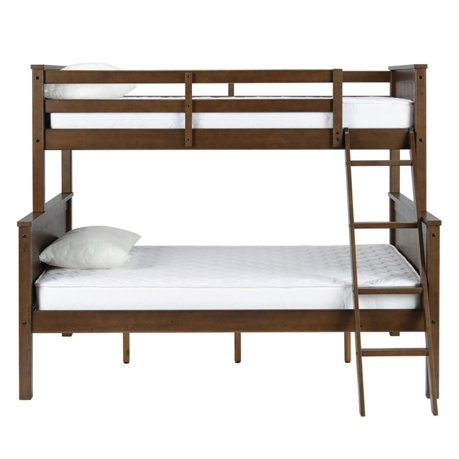 Dorel Living Maxton Twin Over Full Bunk Bed In Mocha