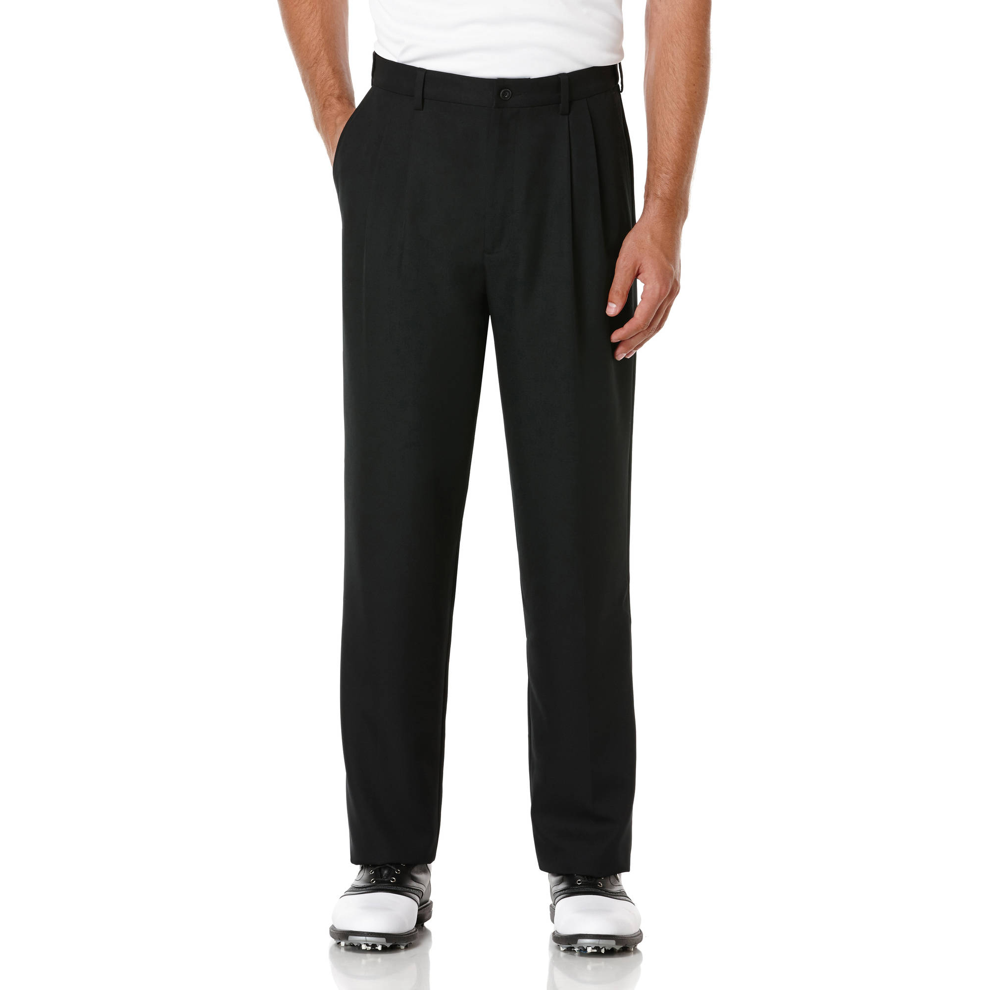 Ben Hogan Men's Golf Performance Double Pleat Expandable Waistband Pant