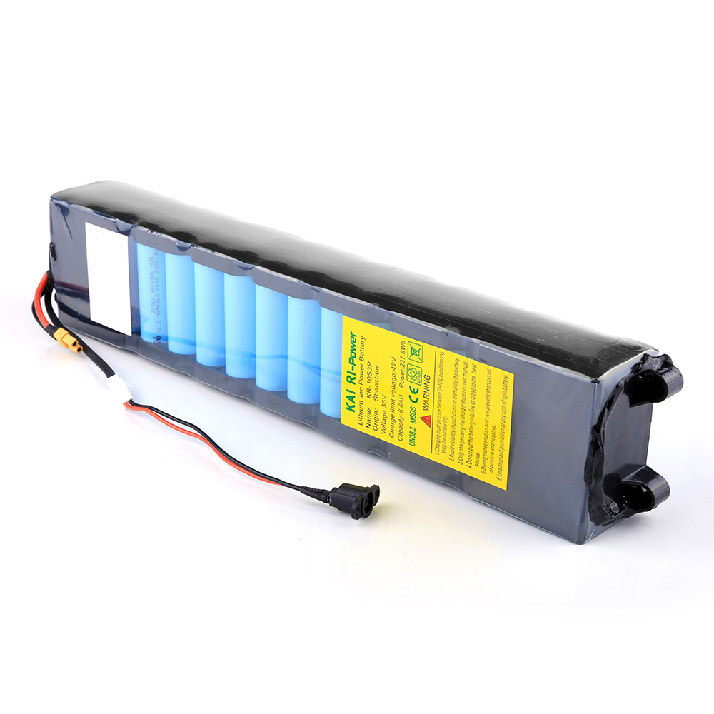 36V 6.6AH Fast Charging Rechargeable Lithium Battery for Xiaomi Electric Scooter