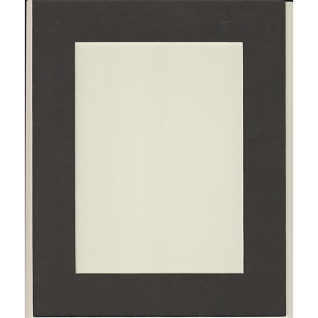 16X20 Black Picture Mats Mattes Matting With White Core Bevel Cut For 12X16 Pictures