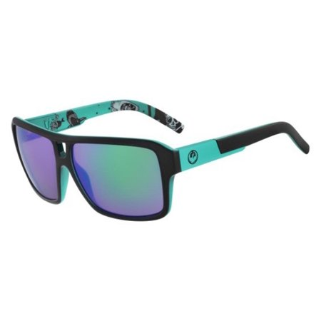 Sunglasses Dragon Dr The Jam 3 032 Jet Teal Green Ion