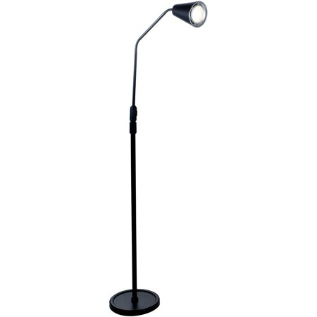Lavish Home 5' LED Flexible Adjustable Floor Lamp
