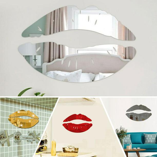 Acrylic Kiss Lip Art Mural Decal