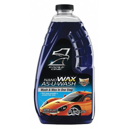 Eagle 1 836605 Blue Car Wash Liquid, 64
