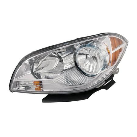 2008-2011 Chevrolet Malibu Driver Side Headlight Left Headlamp Assembly GM2502307 ()
