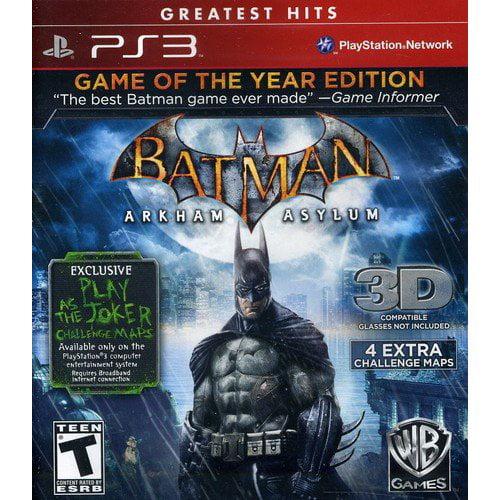 Batman: Arkham Asylum - Game of the Year (PS3)