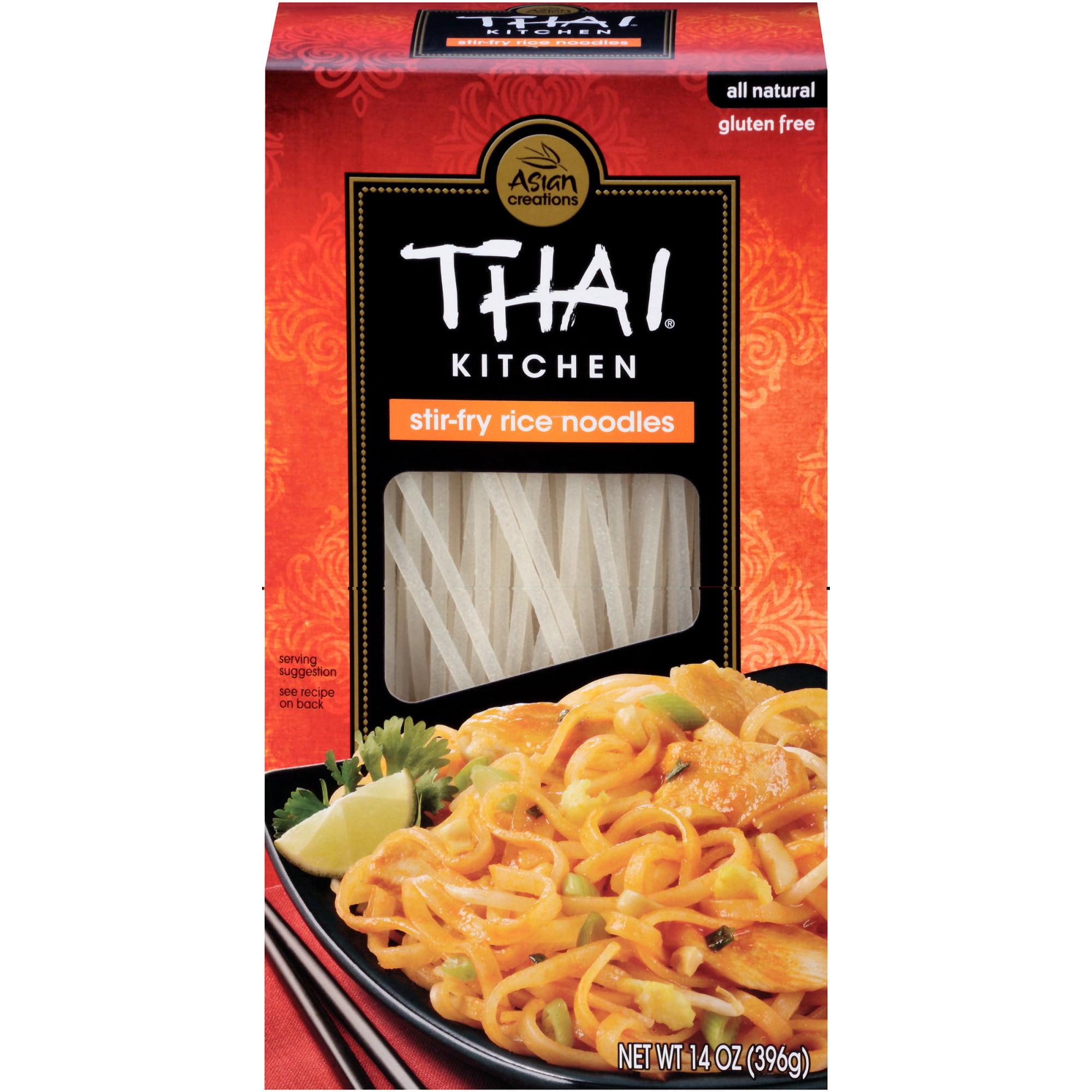 thai kitchen gluten free stir fry rice noodles 14 oz walmart com rh walmart com thai kitchen rice noodles nutrition thai kitchen rice noodles recipe