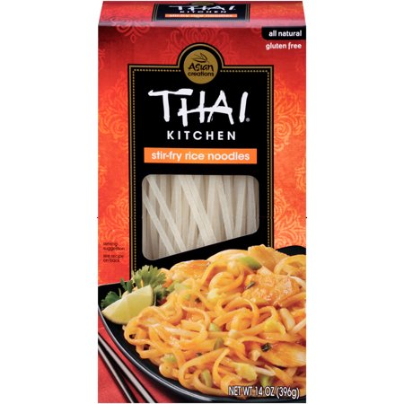 (2 pack) Thai Kitchen Gluten Free Stir Fry Rice Noodles, 14 (Best Cut Of Beef For Stir Fry)