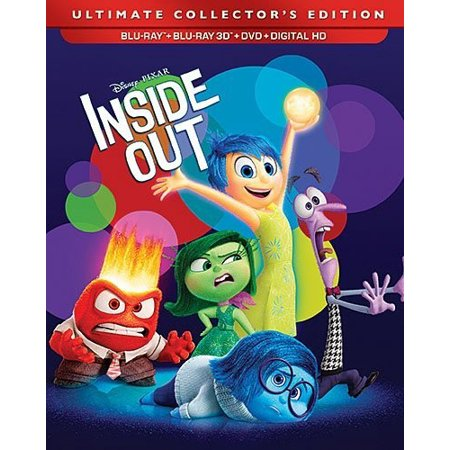Inside Out  Blu Ray   Blu Ray   Dvd