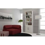 Mendocino Evergreen Practical Cabinet Bookcase, Multiple Colors