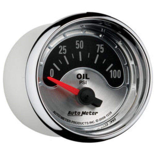 AutoMeter 1226 American Muscle (TM) Gauge Oil Pressure - image 1 of 2