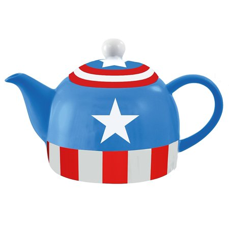 Marvel Avengers Captain America High Quality Ceramic Teapot (36oz)