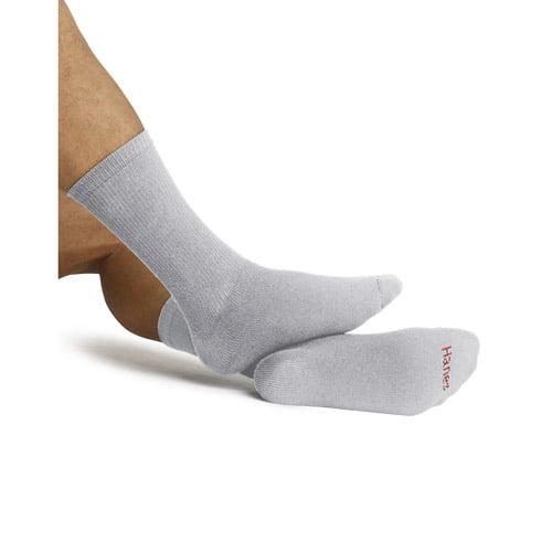 Hanes - Men's Crew Socks, 6 Pairs