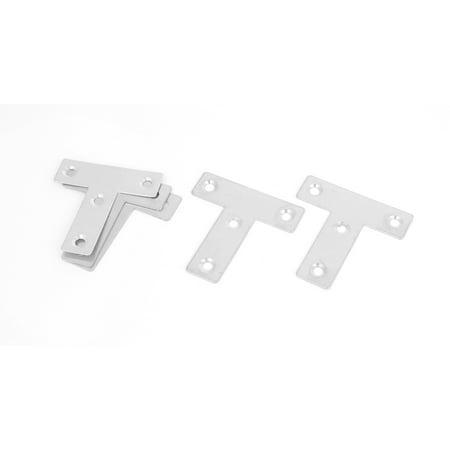 50mmx50mm T équerre renfort angle Support Réparation 5PCS - image 2 de 2