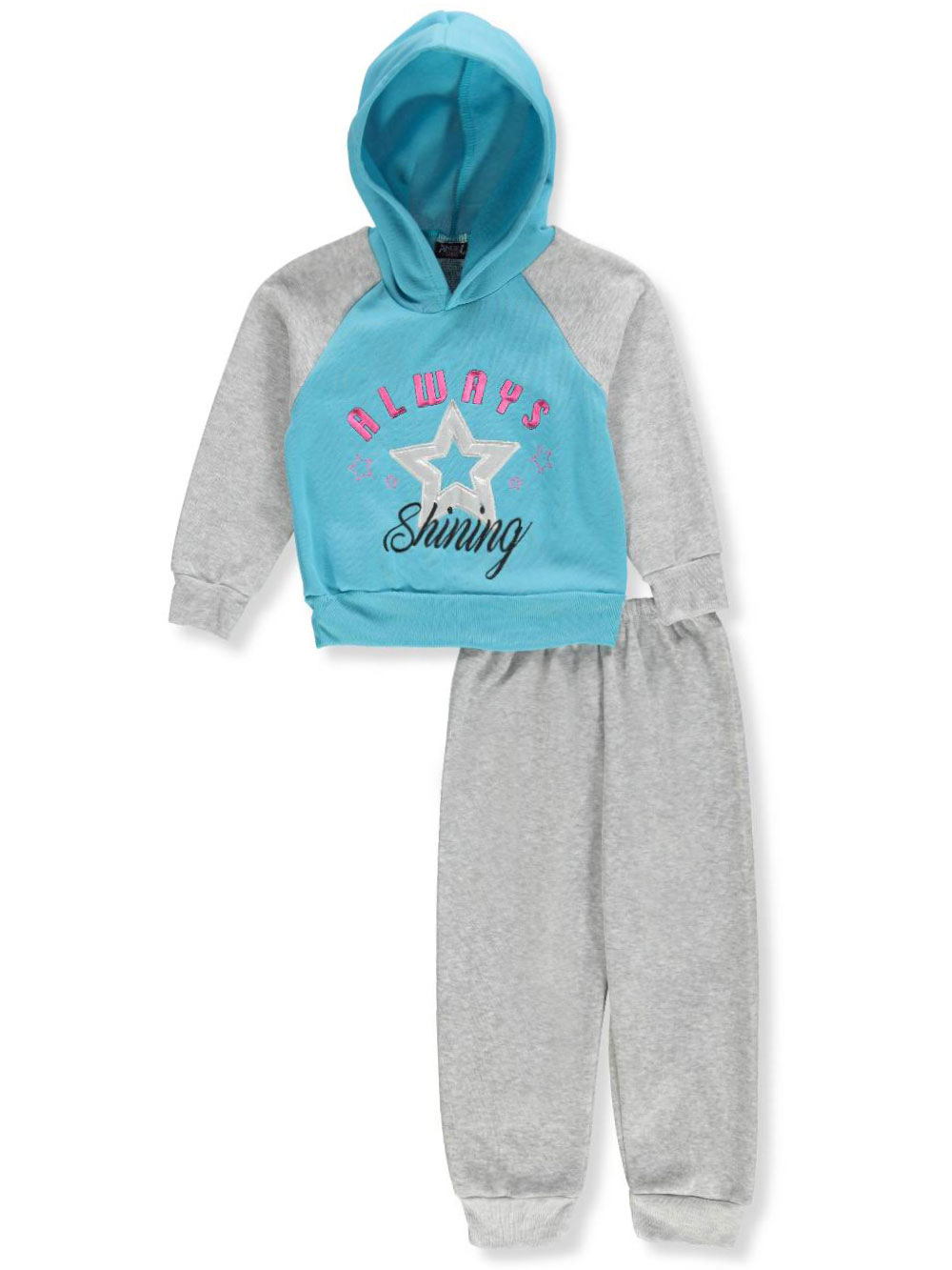 Angel Face Girls' 2-Piece Sweatsuit Pants Set