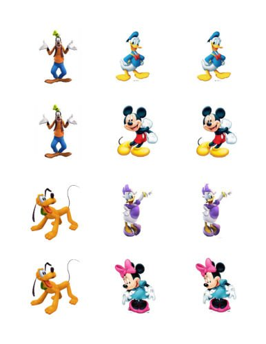 Mickey Mouse Clubhouse edible cupcake toppers - Walmart ...