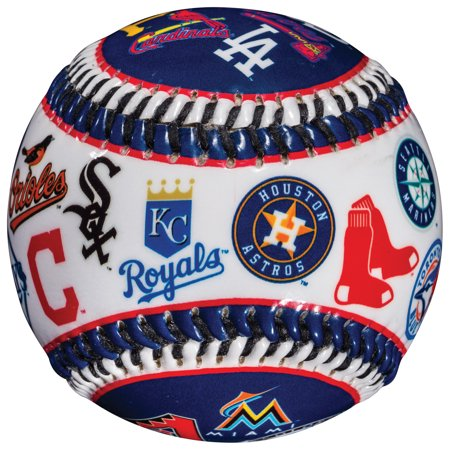 Franklin Sports MLB All Team Logo Soft Strike Baseball