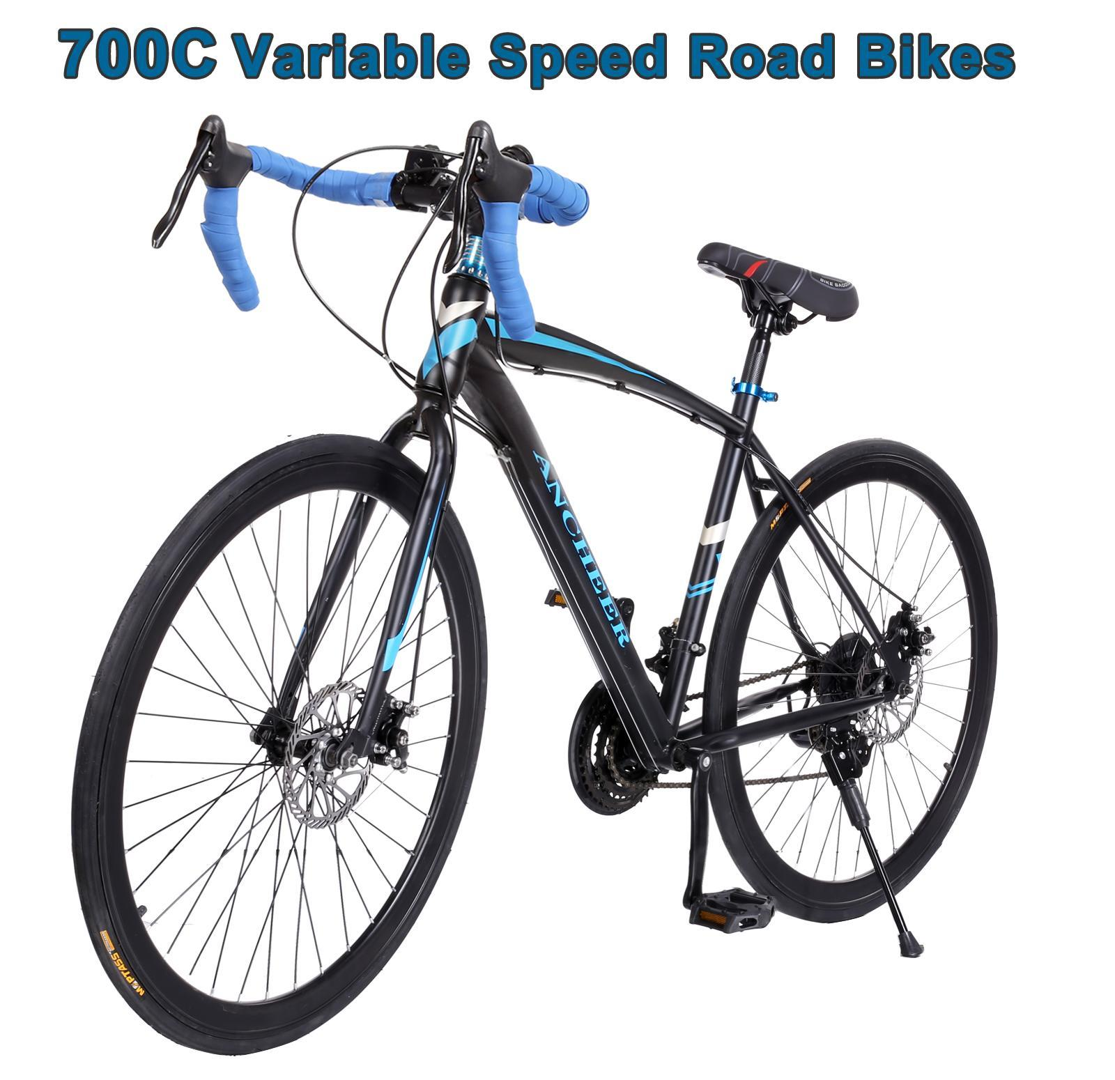 700cc Men's Bike 21-speed Road Bike Cycling  Aluminum Bicycle