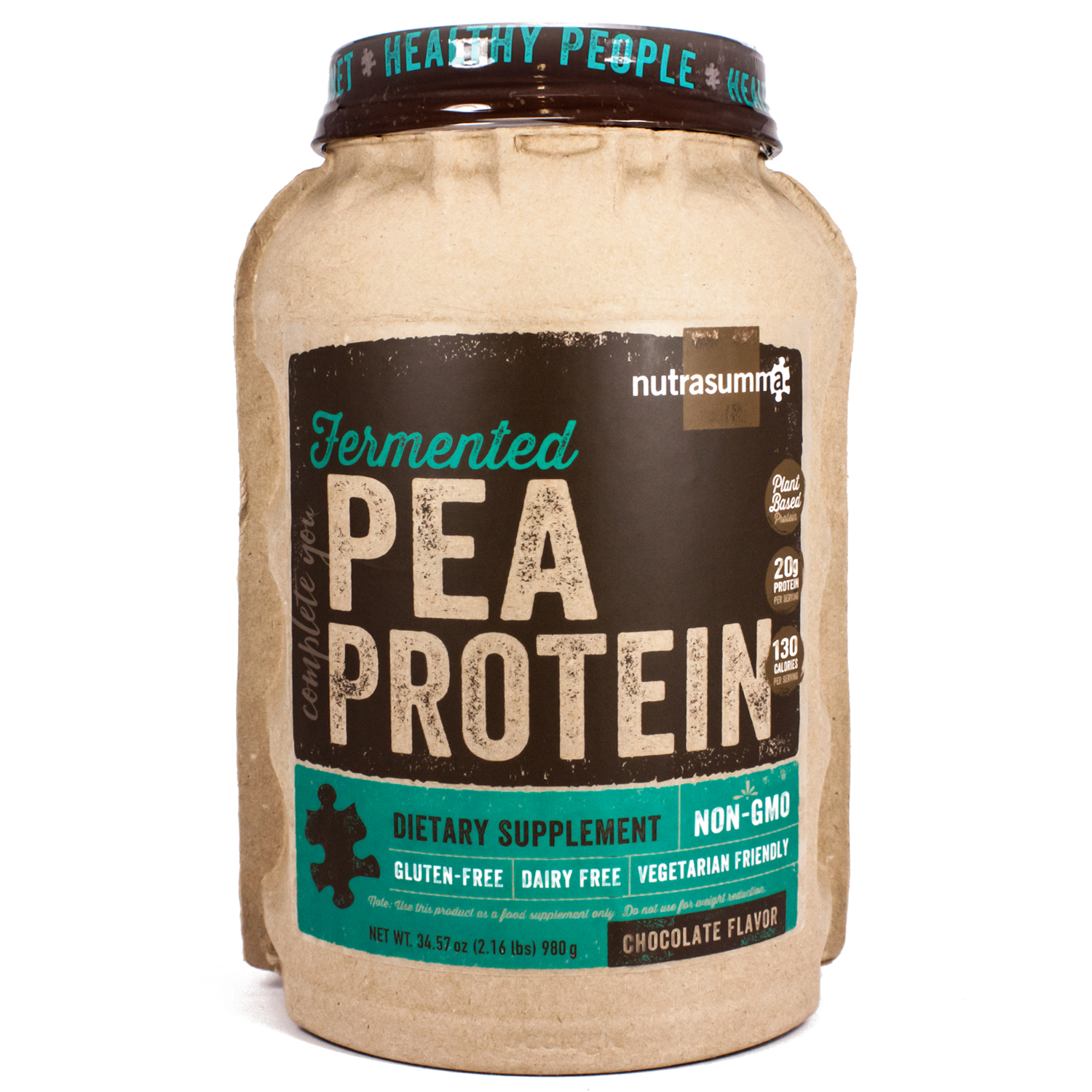 Fermented Pea Protein Chocolate By Nutrasumma - 34 Ounces