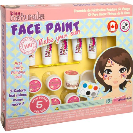 Fundamentals Toys Kiss Naturals DIY Face Paint Making Kit