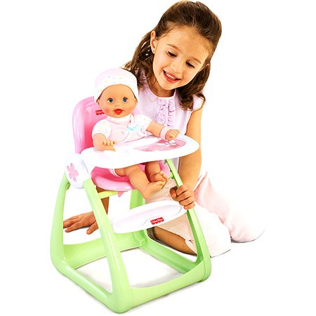 Fisher Price Little Mommy Newborn Doll High Chair