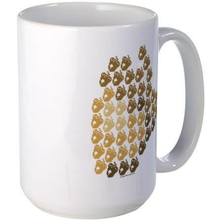 CafePress - Ice Age 8-Bit Acorn Large Mug - 15 oz Ceramic Large Mug ()