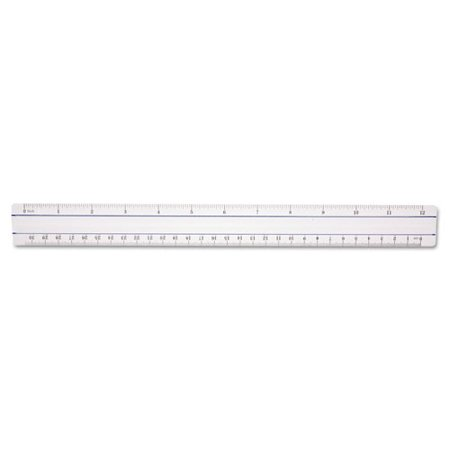 Acme 12  Clear Magnifying Ruler