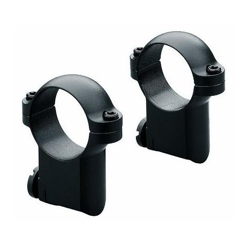Leupold Riflescope Mount Rings, 1in, Ruger M77, High Extension, Matte Black 5230