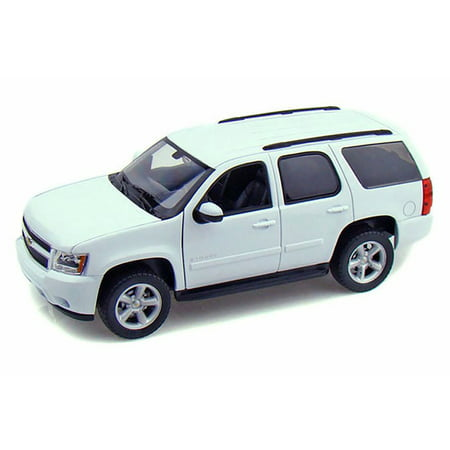 2008 Chevy Tahoe Suv White Welly 22509w Wt 1 24 Scale