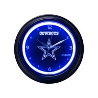FOCO - NFL LED Clock, Dallas Cowboys