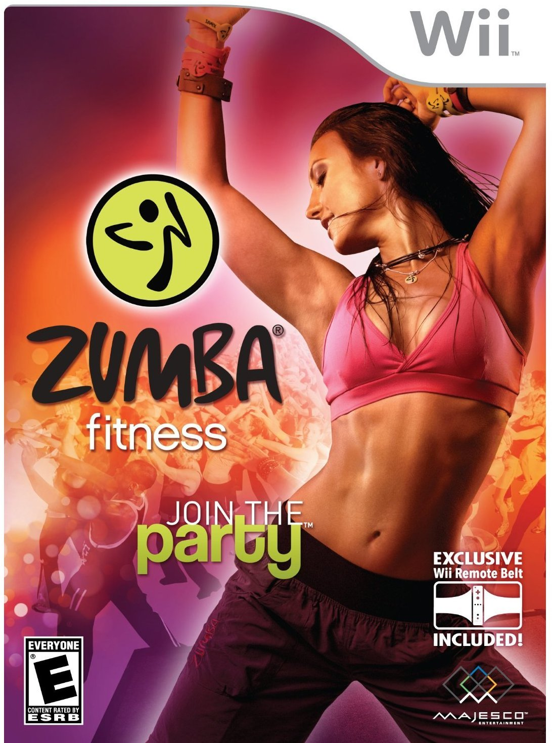 Zumba Fitness Nintendo Wii, By Majesco From USA by