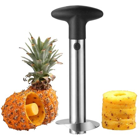 LIVINGbasics Pineapple Slicer Core Cutter Stainless Steel Fruit Cutting Remover Core Tool 1Pc - image 1 of 5