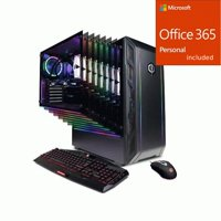CyberpowerPC Gamer Supreme Liquid Cool SLC10500V2 Gaming PC  + Office 365 Bundle