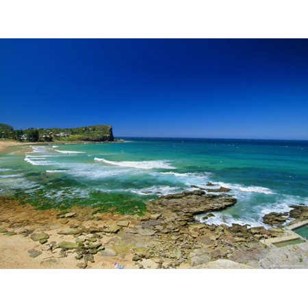 Avalon, One of the City's Northern Surf Beaches, Sydney, New South Wales, Australia Print Wall Art By Robert