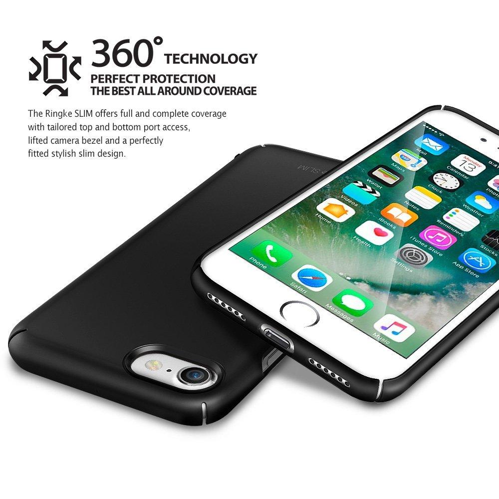 Rearth Ringke Slim Hard Case Iphone 7 Casing Cover Emas Daftar 4s Kiwi Apple 8 Phone Snug Fit